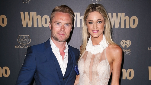 Ronan Keating and Storm Uechtritz have tied the knot