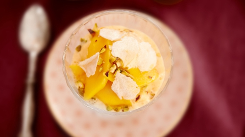 This is wonderful served just as it is, or with some chopped or sliced ripe mango.