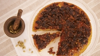 Date, Cardamom and Ginger Upside-Down Cake  - Wow your guests - or yourself!