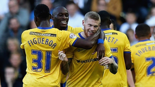 James McClean's brace gave Wigan a crucial win