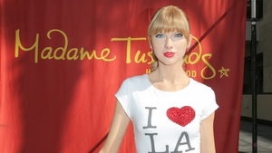 Taylor Swift has been immortalised with a wax figure