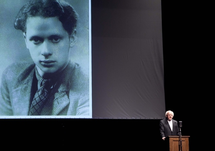 President Higgins read from the Dylan Thomas poem Elegy at the Dylathon