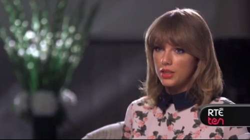 Taylor speaks to TEN about her new album, 1989