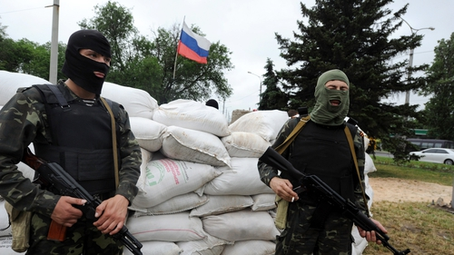 The elections will take place in pro-Russian areas of Donetsk and Lugansk