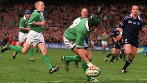 Simon Easterby joined the Ireland set-up in July