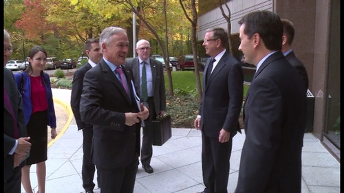 Richard Bruton is to meet 17 companies over the course of his five-day visit to the US