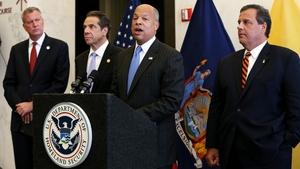 US Secretary of Homeland Security Jeh Johnson called the action 'a precautionary step'