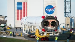 The Antares rocket was carrying a Cygnus spacecraft packed with supplies, science experiments and equipment
