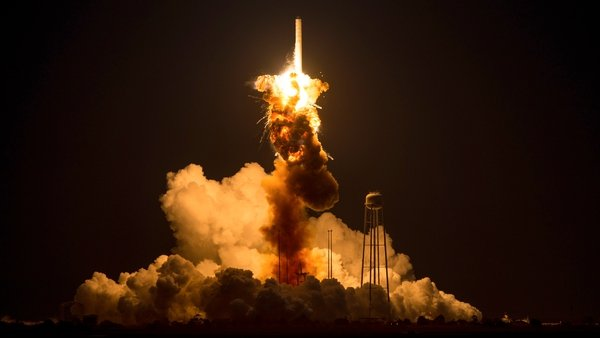 Orbital's Cygnus cargo ship exploded just seconds after lift-off