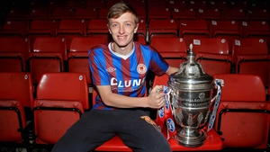 Chris Forrester is hoping to win the FAI Cup for the first time