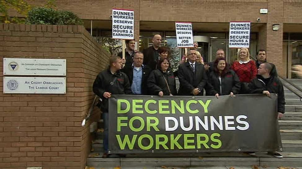 Dunnes Stores employs 14,000 staff in 112 stores