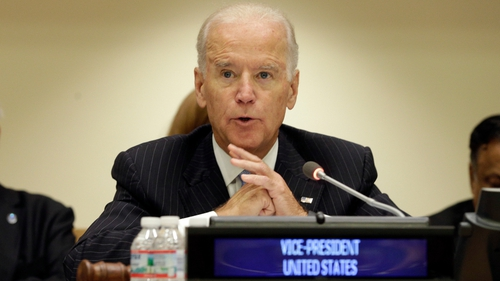 Joe Biden says the US is 'ready to assist the parties in whatever way possible'