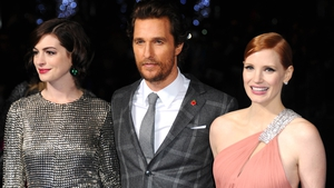 Anne Hathaway, Matthew McConaughey and Jessica Chastain