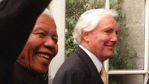 Tony O'Reilly and Nelson Mandela