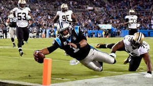 Cam Newton's diving touchdown wasn't enough for the Carolina Panthers against the New Orleans Saints