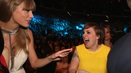 Close friends Taylor Swift and Lena Dunham