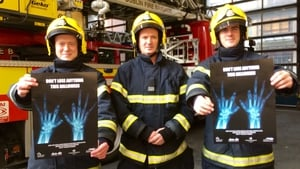 Firefighters are urging people to stay safe around fireworks