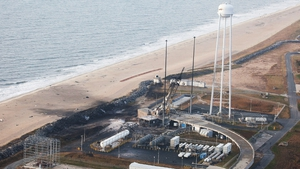 Preliminary analysis indicates the launch pad escaped major damage