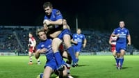 Leinster run riot in bruising affair