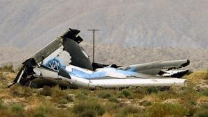 Virgin Galactic's SpaceShipTwo rocket came down in the Mojave Desert in California