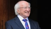 In his address President Higgins describes his State Visit to the UK as 'an immense privilege and pleasure'