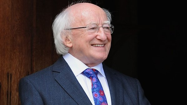 President Michael D Higgins will visit Ethiopia, Malawi and South Africa