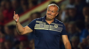 Leeds United manager Neil Redfearn