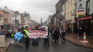 The message from Longford protesters was clear