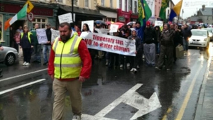 A determined crowd marched through Tipperary town (Pic: Pat Murphy)