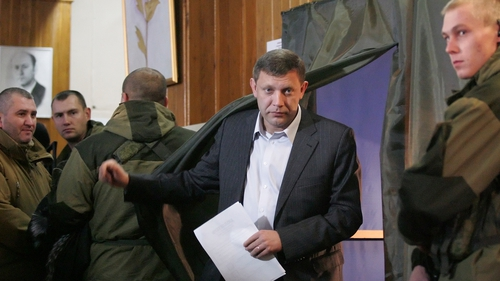 Alexander Zakharchenko is on course to be confirmed in his post in Donetsk