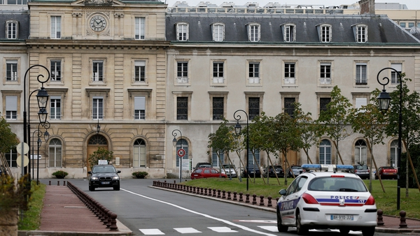 The UN health worker has been placed in isolation at the Begin military hospital in paris