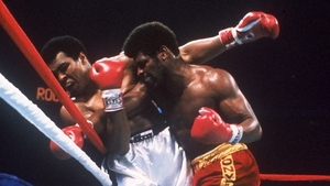 Muhammad Ali fights Leon Spinks in 1978. Ali had a 21-year professional career