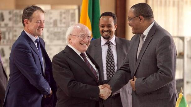 Agreements Between Ireland And Ethiopia Signed