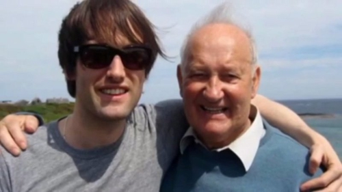 Tim Wheeler and his late father George