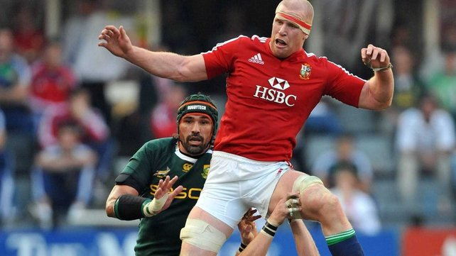Paul O'Connell versus Victor Matfield is a match-up of two of the world's best second rows