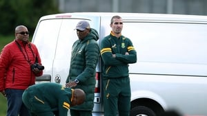Ruan Pienaar sat out training before being ruled out of the tour