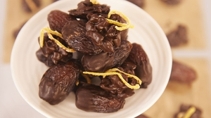 Chocolate and Candied Orange Dates : Rachel Allen