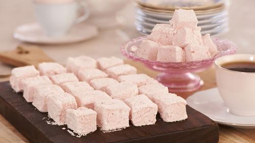 JR's Rose Water Marshmallows: Rachel Allen