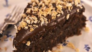 Chocolate Coconut Cake: Rachel Allen