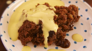 Gooey Date and Stem Ginger Pudding: Rachel Allen