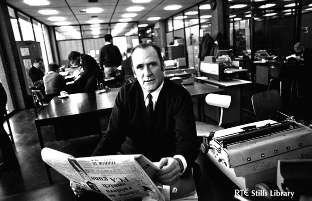 RTÉ newsreader Charles Mitchel (1972)