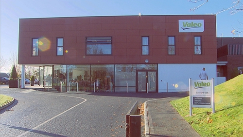 The expansion at Valeo Vision Systems will bring the number working full-time at the firm to more than 650