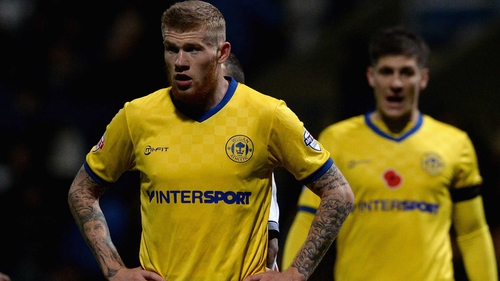 James McClean came on as substitute for Wigan against Bolton