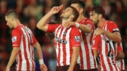Shane Long will be hoping for a speedy recovery after hurting his ribs on Saturday