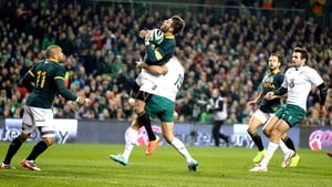 Rob Kearney hit Willie Le Roux too soon in the opening minutes, conceding a penalty