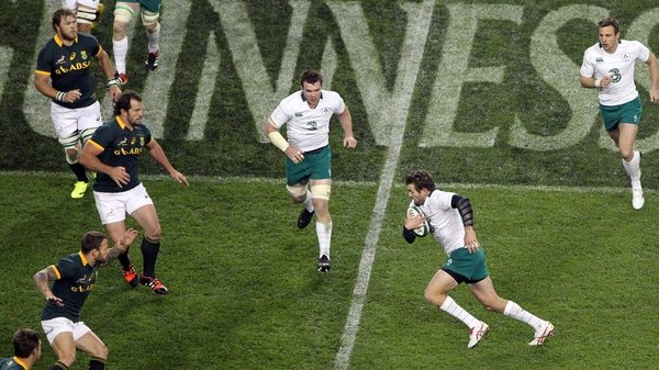 Jared Payne was replaced by Eoin Reddan in the closing stages of Ireland's victory at Aviva Stadium