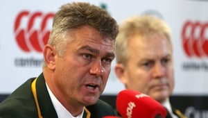 """Heyneke Meyer after the match: """"We have a saying in the Springboks, 'the referee is always right'"""""""