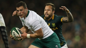 Robbie Henshaw revealed that he's had help from Brian O'Driscoll as his game continues to improve