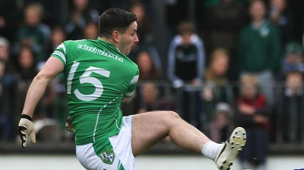 Moorefield's Niall Hurley Lynch was on the scoresheet as the Kildare champions progressed