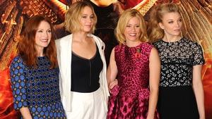 Julianne Moore, Jennifer Lawrence, Elizabeth Banks and Natalie Dormer